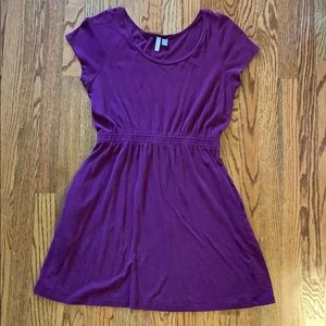 Old Navy Purple T-Shirt Dress (With Pockets)
